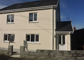 Thumbnail 4 bed semi-detached house for sale in Heol Y Pentre, Ponthenry, Llanelli