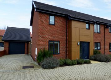Thumbnail 3 bed semi-detached house for sale in Whooper Close, Long Stratton, Norwich