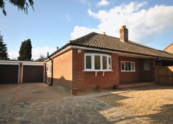 Thumbnail 2 bed semi-detached bungalow for sale in Sandy Lane, Taverham, Norwich