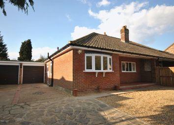 Thumbnail 2 bed semi-detached bungalow for sale in Sandy Lane, Taverham, Norwich