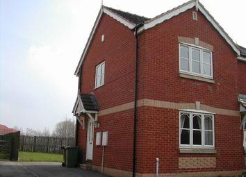 Thumbnail 2 bed semi-detached house to rent in Parklands Drive, Horbury Bridge