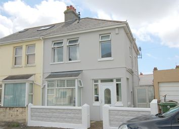 Thumbnail 3 bed semi-detached house for sale in West Down Road, Plymouth
