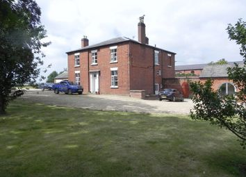 Thumbnail 6 bed farmhouse for sale in Marston Lane, Marston, Stafford