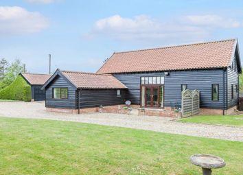 Thumbnail 3 bed barn conversion for sale in Wymondham Road, Wramplingham, Wymondham