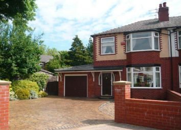 Thumbnail 3 bed semi-detached house for sale in Wythburn Avenue, Urmston, Manchester