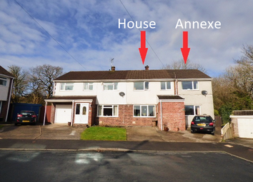 Thumbnail 4 bed semi-detached house for sale in Nant Ffornwg, Cefn Glas, Bridgend
