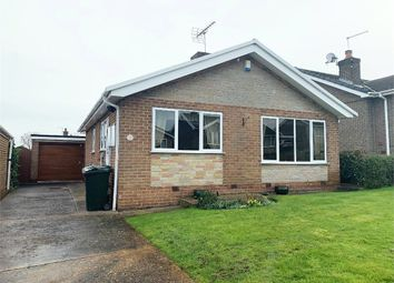 Thumbnail 2 bedroom detached bungalow for sale in Stambers Close, Woodsetts, Worksop, Nottinghamshire