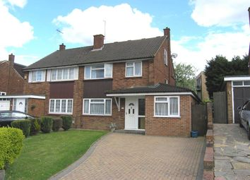 Thumbnail 4 bed semi-detached house for sale in Cornfield Road, Bushey