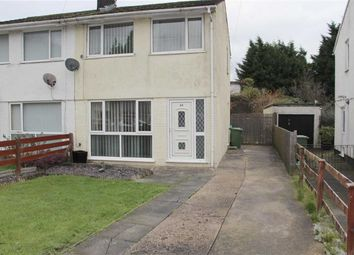 Thumbnail 2 bed semi-detached house to rent in Garden Close, Llanbradach, Caerphilly