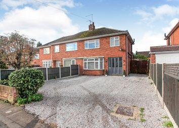 Thumbnail 3 bed semi-detached house for sale in Fulbridge Road, Werrington, Peterborough