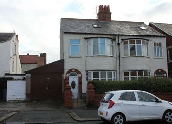 Thumbnail 4 bed semi-detached house for sale in Burlington Road, Blackpool, Lancashire