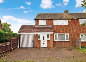 Thumbnail 3 bed semi-detached house for sale in Westminster Drive, Bletchley, Milton Keynes, Buckinghamshire