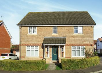 Thumbnail 4 bedroom detached house for sale in Lodge Farm Drive, Old Catton, Norwich