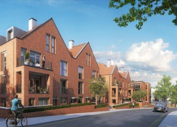 Thumbnail 1 bed flat for sale in Mondrian House, Kidderpore Green, Kidderpore Avenue, Hampstead
