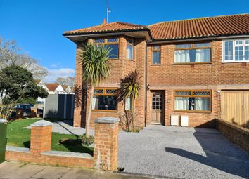 Thumbnail 4 bed semi-detached house for sale in George V Avenue, Goring-By-Sea, Worthing