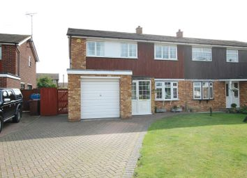 Thumbnail 3 bed semi-detached house for sale in Barry Close, Grays