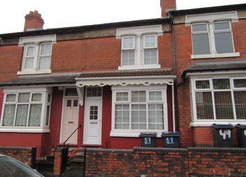 Thumbnail 3 bed terraced house for sale in Alderson Road, Alum Rock, Birmingham, West Midlands