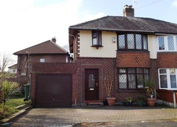 Thumbnail 3 bed semi-detached house for sale in Charles Avenue, Audenshaw, Manchester, Greater Manchester