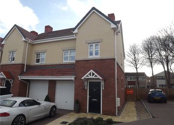 Thumbnail 4 bedroom semi-detached house for sale in Aidan Gardens, Belmont, Durham