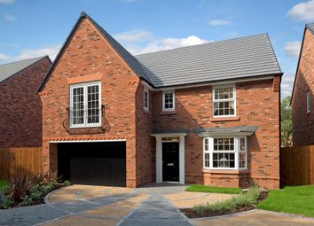 "Thumbnail 4 bed detached house for sale in ""Shelbourne"" at Hassall Road, Alsager, Stoke-On-Trent"