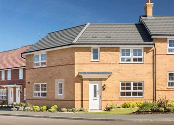 "Thumbnail 3 bed semi-detached house for sale in ""Eskdale"" at Wood End, Marston Moretaine, Bedford"