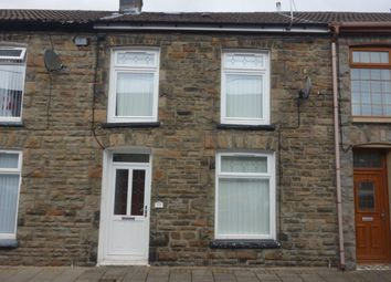 Thumbnail 3 bed terraced house to rent in John Street, Pentre