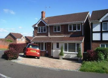 Thumbnail 5 bed detached house to rent in Wentwood Road, Caerleon, Newport