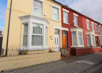 Thumbnail 4 bed end terrace house for sale in Southbank Road, Edge Hill, Liverpool