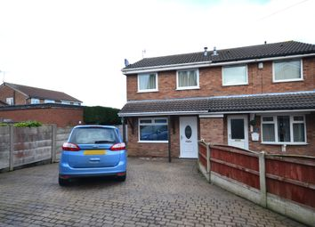 Thumbnail 2 bed semi-detached house for sale in Wem Grove, Chesterton, Newcastle-Under-Lyme