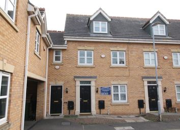 Thumbnail 4 bed terraced house for sale in Riseholme Close, Leicester