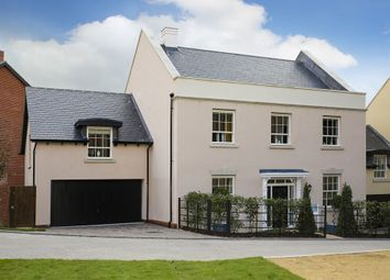 "Thumbnail 5 bed detached house for sale in ""The Wickham "" at Pitt Road, Winchester"