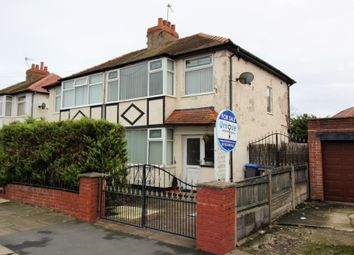 Thumbnail 3 bed semi-detached house for sale in Beryl Avenue, Thornton-Cleveleys