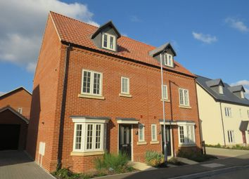 Thumbnail 3 bedroom semi-detached house for sale in Woodpecker Avenue, Holt