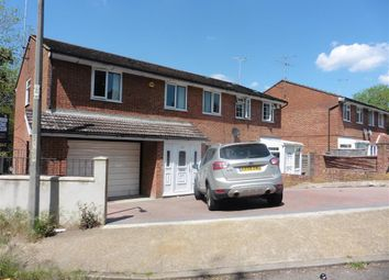 Thumbnail 4 bed semi-detached house for sale in Cherbourg Crescent, Chatham, Kent