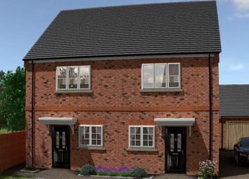 Thumbnail 2 bed semi-detached house for sale in Mobbs Close, Olney, Milton Keynes