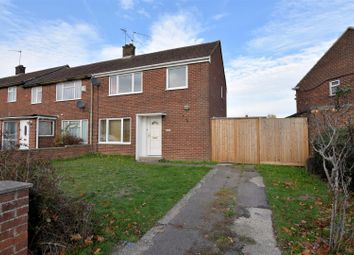 Thumbnail 3 bed end terrace house for sale in The Meadway, Tilehurst, Reading