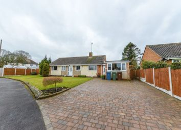 Thumbnail 3 bed detached bungalow for sale in Jasmine Road, Great Bridgeford, Stafford