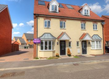 Thumbnail 4 bed semi-detached house for sale in Jeckyll Road, Wymondham