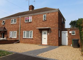 Thumbnail 3 bed semi-detached house to rent in Croyland Road, Peterborough