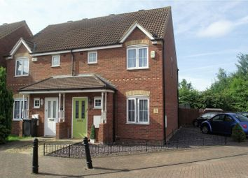 Thumbnail 3 bed semi-detached house to rent in Miller Close, Bedford