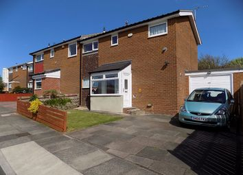 Thumbnail 3 bed semi-detached house for sale in Gishford Way, Newcastle Upon Tyne