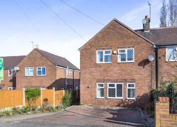 Thumbnail 3 bed terraced house for sale in Hillcrest Drive, Kilburn, Belper
