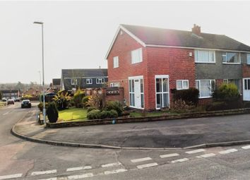 Thumbnail 3 bed semi-detached house for sale in Ashfield Drive, Anstey, Leicester