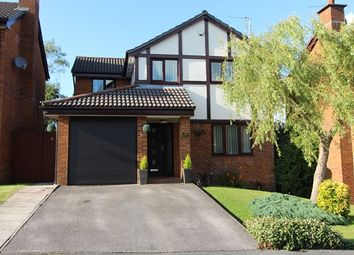 Thumbnail 4 bed detached house for sale in Templecombe Drive, Bolton