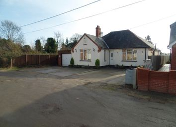 Thumbnail 4 bed detached bungalow for sale in Thorrington Road, Little Clacton, Clacton-On-Sea