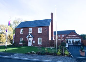 Thumbnail 4 bedroom detached house for sale in Brockhall Road, Flore, Northampton