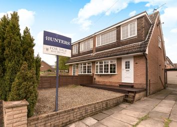 Thumbnail 3 bedroom semi-detached house for sale in Woodlea Approach, Yeadon, Leeds