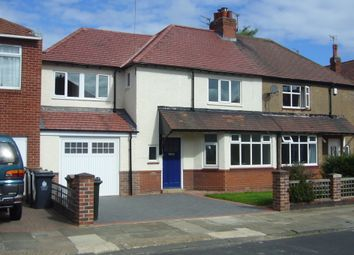 Thumbnail 3 bed semi-detached house to rent in Brantwood Avenue, Whitley Bay