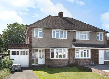 Thumbnail 3 bed semi-detached house for sale in Wolsey Drive, Walton-On-Thames