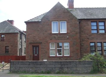 Thumbnail 2 bed end terrace house for sale in Thorburn Crescent, Annan